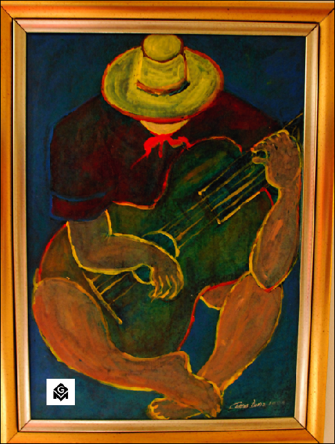 el guitarrista Carlos Diaz