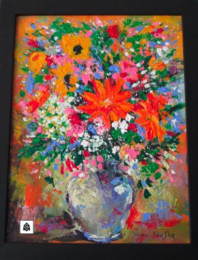 Les Fleurs by Vania Goshe