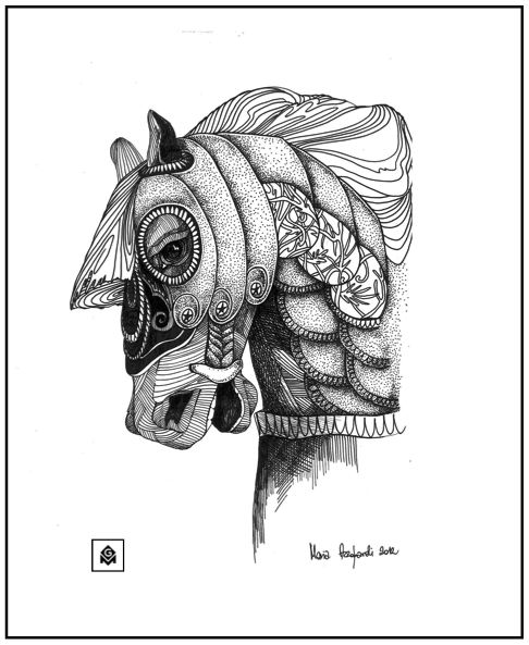 the Imperial Horse 2 by Maria Azzopardi