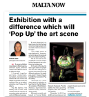 Maltanow Article 2013 - Pop Up the Art Scene