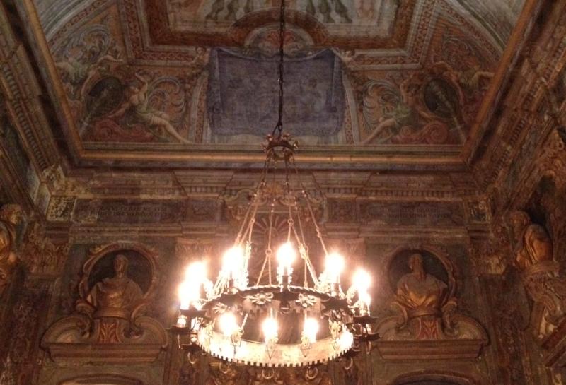 inside the Arts Culture center valletta