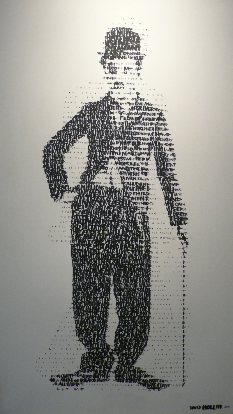 Charlie Chaplin David Hollier Art