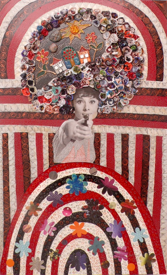 Audrey Hepburn Artibo Art
